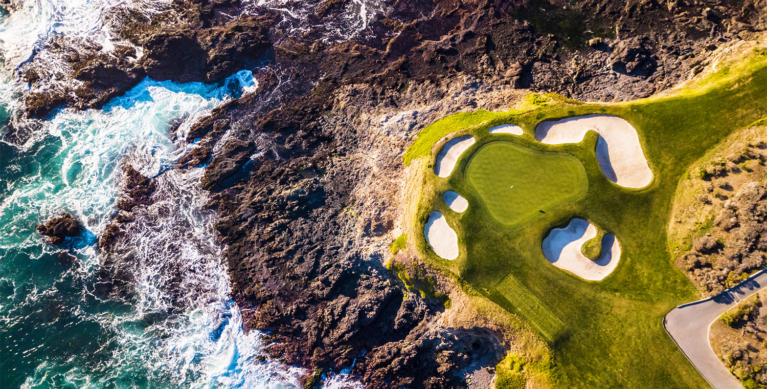 Practice your swing at one of the top-rated Monterey golf courses