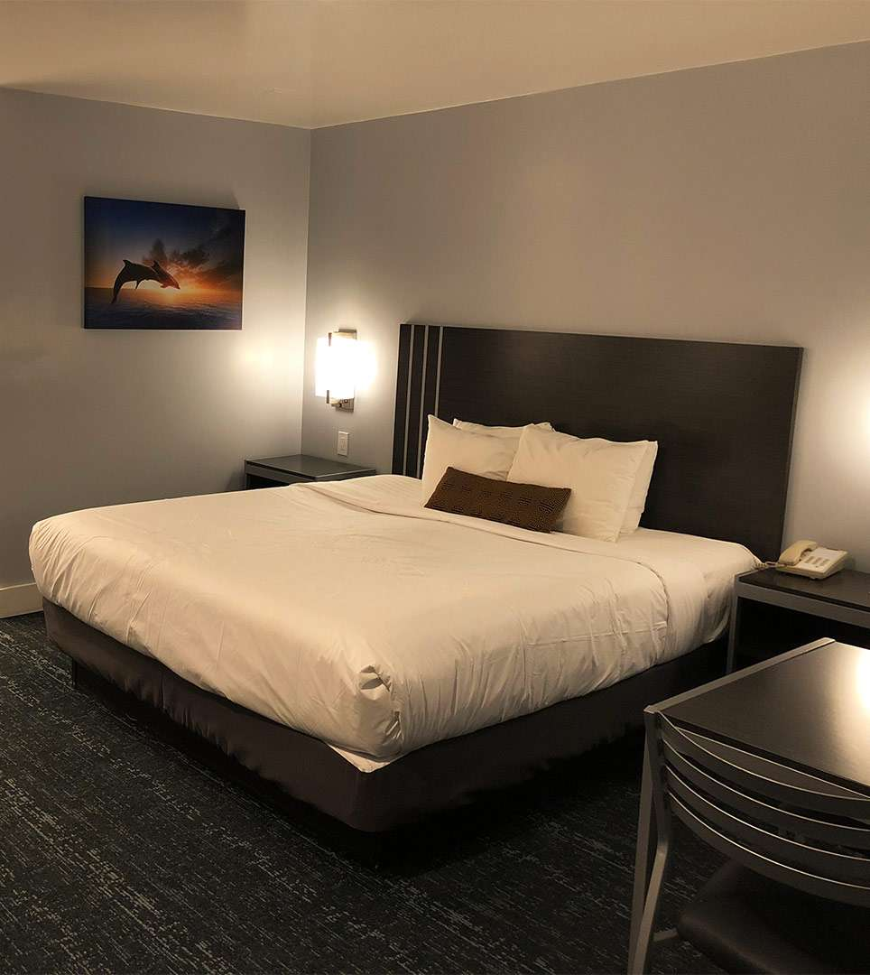 OUR COMFORTABLE ACCOMMODATIONS ARE JUST MINUTES FROM TOP MONTEREY ATTRACTIONS