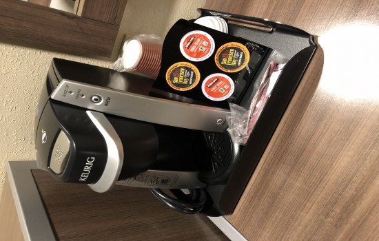 Welcome To Pacific Inn Monterey - In-Room Keurig Coffee Maker